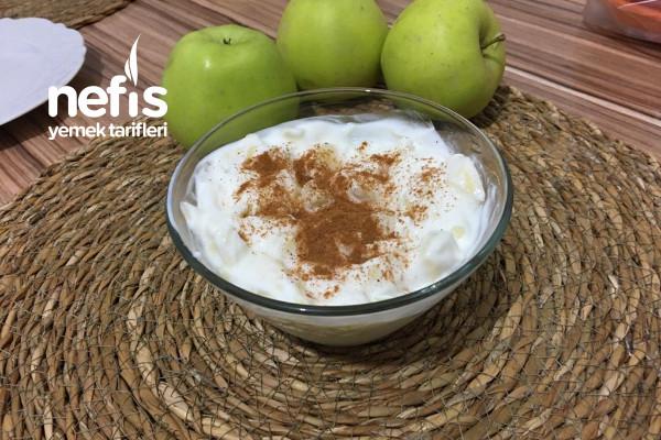 Metabolizma Hızlandıran Elmalı Tarçınlı Yoğurt