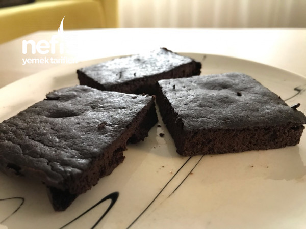 Unsuz, Yağsız Brownie