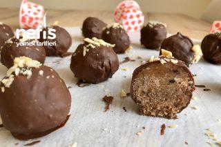 Çikolatalı Toplar (Kalan Malzemelerden) Tarifi