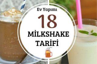 Evde Milkshake Yapımı: En Kolay 18 Farklı Tarif Tarifi