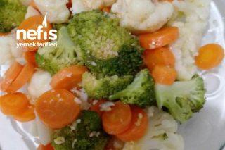 Haşlanmış Sebze Salatasi (Özel Sosuyla) Tarifi