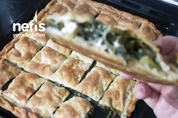 Ispanaklı Arnavut Böreği (İlk Kez Yaptım)