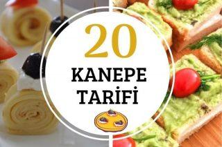 Davetlerinize Çok Yakışacak 20 Farklı Kanepe Tarifi