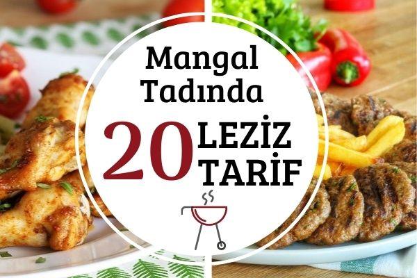 Mangal Tarifleri: 20 Nefis Tarifle Mutfakta Piknik Keyfi Tarifi