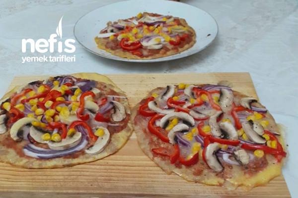 Ton Balıklı Pizza (İsterseniz Diyette Her Gün Yiyebilirsiniz)