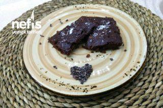 Glutensiz, Rafine Şekersiz En Sağlıklı Fit Brownie Tarifi