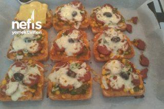Kolay Ev Pizzası Tarifi