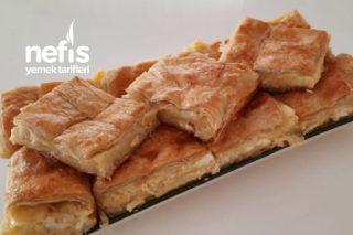 Milföylü Yufkalı Peynirli Börek Tarifi