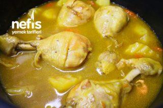Sebzeli Tavuk Haşlama (Baget) (Videolu) Tarifi