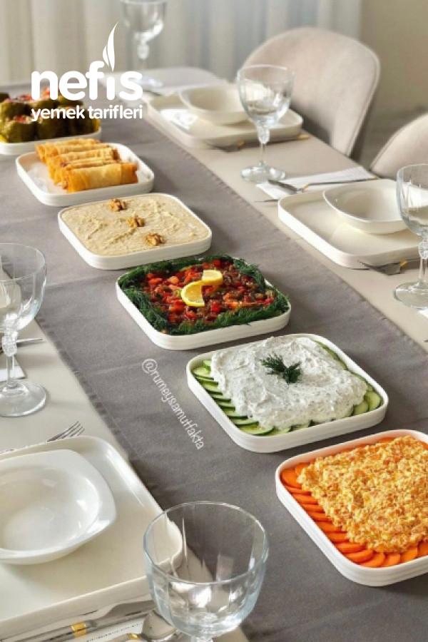 Akşam Yemeği İçin 5 Meze Tarifi