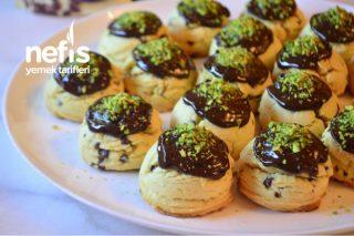 Parça Çikolatalı Kıyır Kıyır Dondurma Kurabiye Tarifi