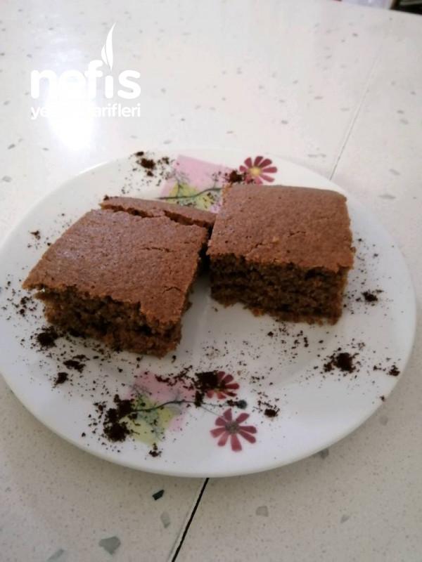 Şekersiz Kahveli Kek