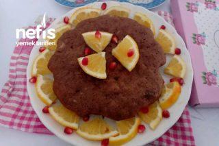 Sütsüz Portakallı Tavada Kek Tarifi
