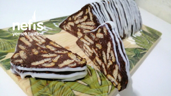 Az Malzemeli Enfess Bir Mozaik Pasta Tarifi