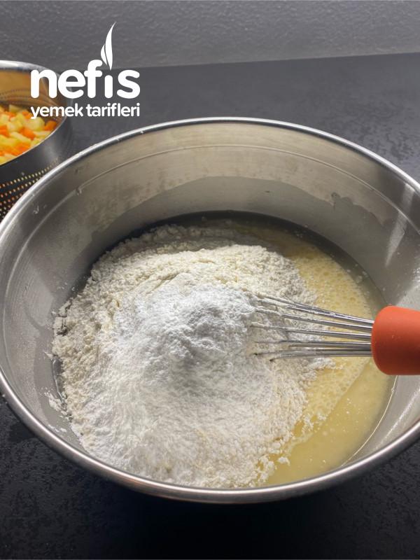 Sebzeli Tepsi Çöreği