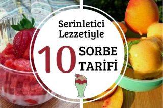 Serinletici Meyvelerle 10 Pratik Sorbe Tarifi