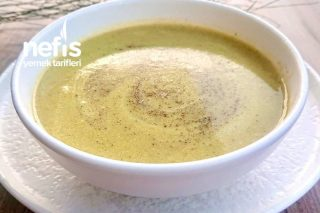Vitamin Deposu Sütlü Brokoli Çorbası Tarifi