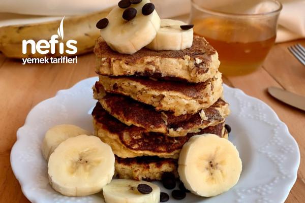 Badem Unlu Rafine Şekersiz Pancake Tarifi