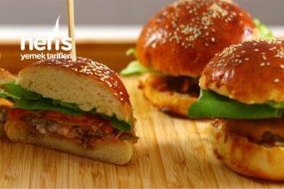 Ev Yapımı Xxl Burger (Videolu) Tarifi