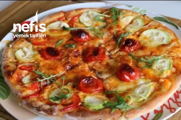 Hakiki Pizza Hamuru Nasıl Yapılır İtalyan Pizzası Nasıl Yapılır (Videolu)