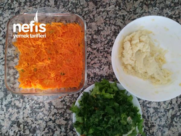Havuçlu Patates Salatasi
