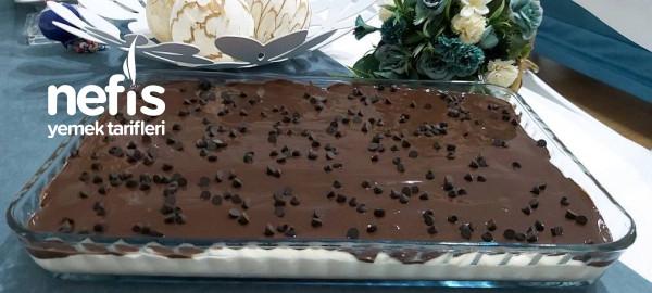 Ipeksi Kremasıyla Çikolatalı Borcam Pastası