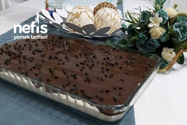 İpeksi Kremasıyla Çikolatalı Borcam Pastası
