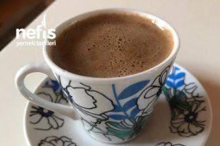Sütlü Türk Kahvesi (Kahveyi Birde Böyle Deneyin) Tarifi