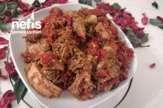 Tavuklu Köz Yemeği (Kendime Özgü Yemeğim) Tarifi