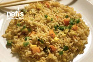 Yumurtalı Kızarmış Çin Pilavı Tarifi