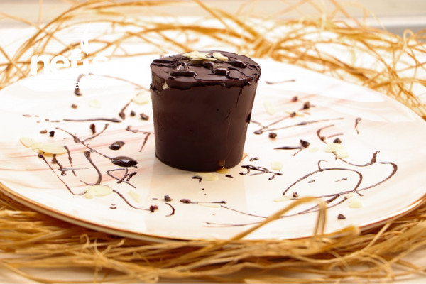 Çikolatalı Fit Sürpriz Tatlı