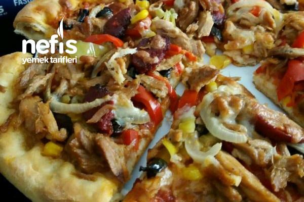 Dardanel Tonlu Pizza Tarifi