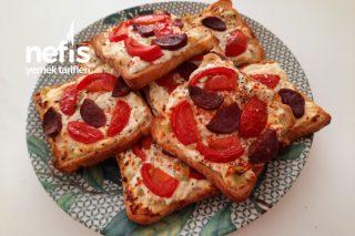 Fırında Peynirli Tost Ekmeği Tarifi
