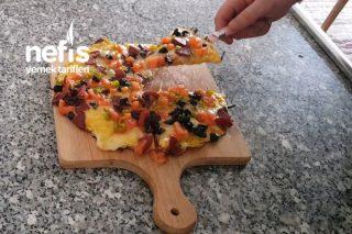 Kahvaltılarınızın Vazgeçilmezi Olacak  Patates Pizzası (Videolu) Tarifi
