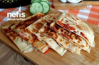 Krep Pizza (Videolu) Tarifi