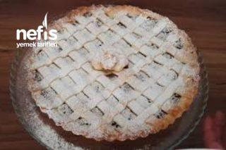 Pastane Usulü Elmalı Tart ( Videolu ) Tarifi