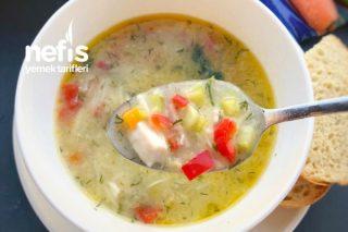 Tavuklu Sebze Çorbası ( Şifa Kaynağı ) Tarifi