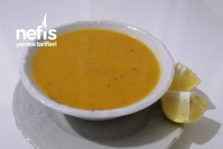 En Kolay Mercimek Çorbası (Videolu) Tarifi