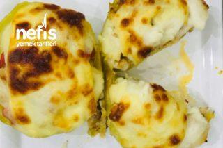 Beşamel Soslu Kayık Patates Tarifi