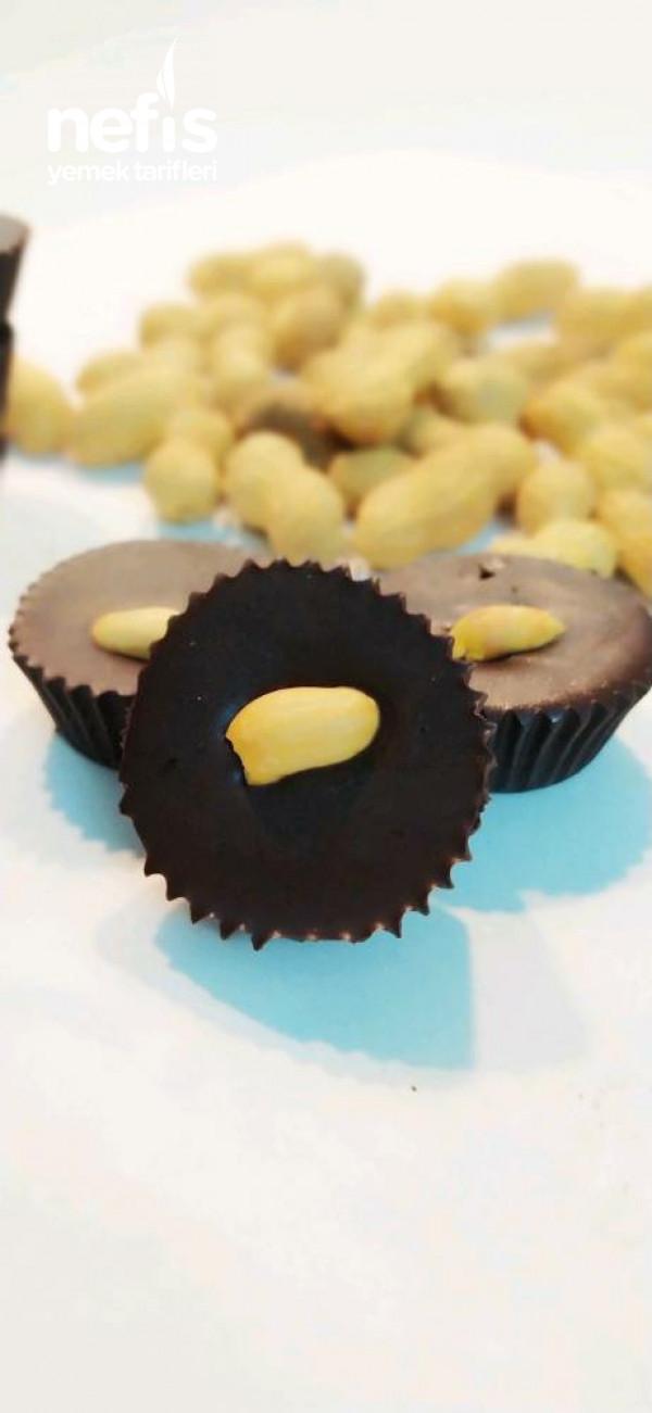 Fıstık Ezmeli Çikolata
