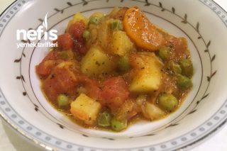 Pratik Sebzeli Baharatlı Patates Yemeği Tarifi