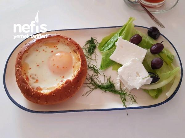Çıtır Kenarlı Yumurta Tabağı