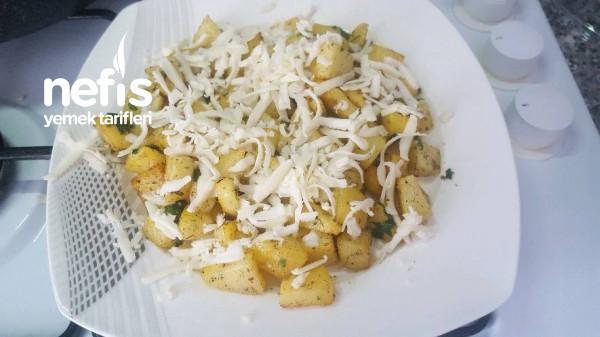 Kahvaltilik Patates (Sarimsakli)