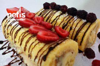 Muzlu Rulo Pasta (Yumuşacık) Tarifi