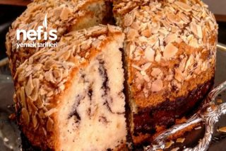 Pasta Görünümünde Pofuduk Kek Tarifi