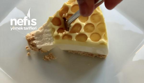 Ballı Cheesecake Tarifi Fırın Yok! Asmr Videolu