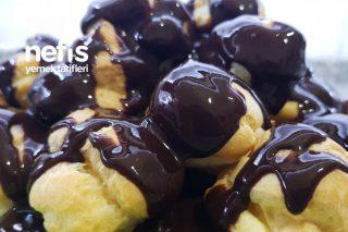 Evde Pastane Usulü Profiterol (Videolu) Tarifi