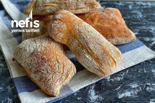 İtalyan Ciabatta Ekmeği | Terlik Ekmeği Tarifi