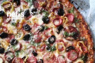 Sarımsak Soslu Pizza Tarifi