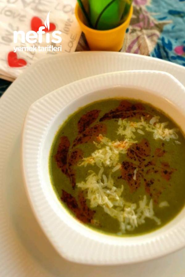 Sütlü Ispanak Çorbası